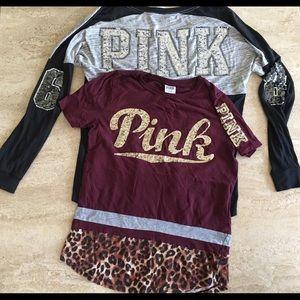 f2db2a1534afb Women Victoria Secret Pink Shirts Cheap on Poshmark